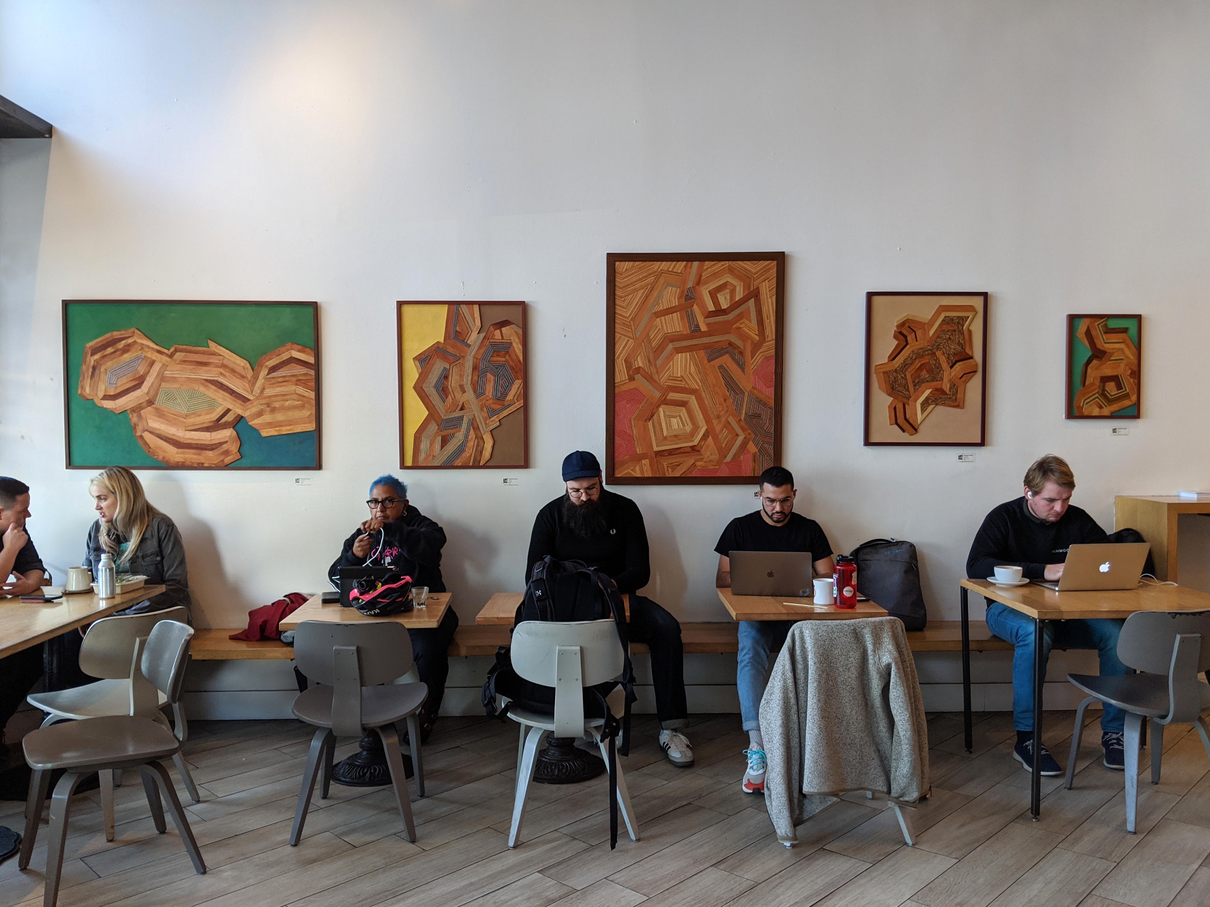 Artist Reception at Ritual Coffee